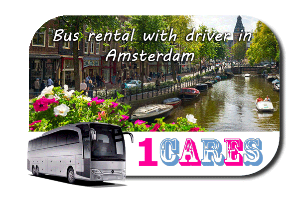 Rent a bus with driver in Amsterdam