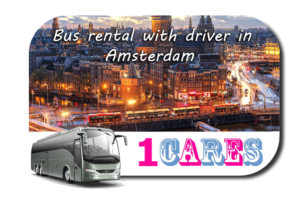 Rent a bus in Amsterdam