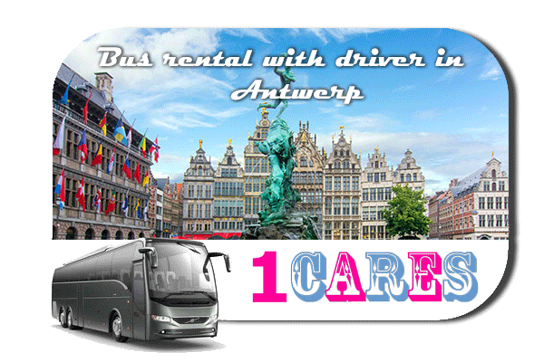 Rent a bus in Antwerp