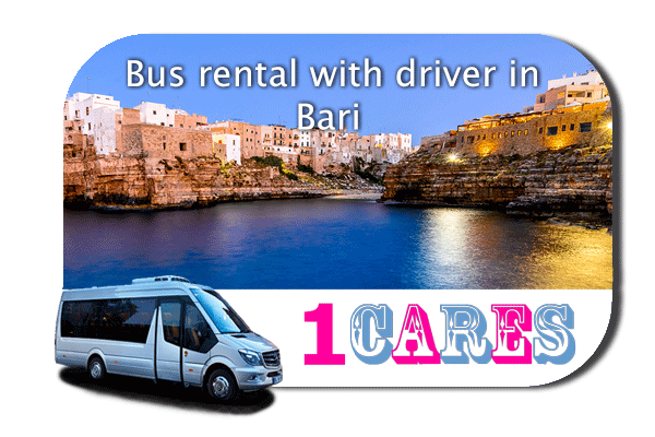 Hire a bus in Bari