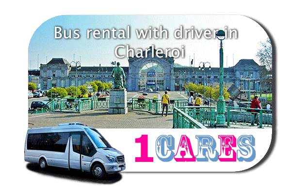 Hire a bus in Charleroi