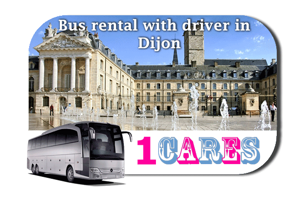 Rent a bus in Dijon