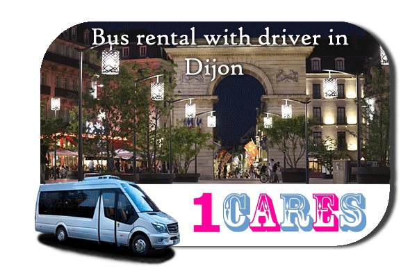 Hire a bus in Dijon