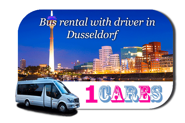 Rent a bus in Düsseldorf