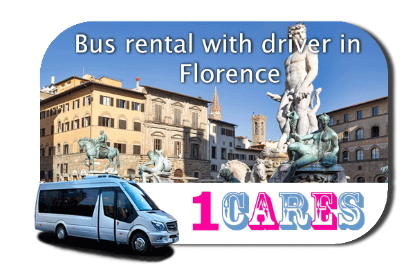 Hire a bus in Florence