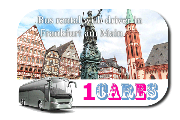 Rent a bus with driver in Frankfurt
