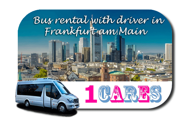 Hire a bus in Frankfurt