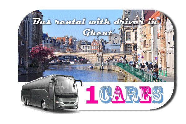 Rent a bus in Ghent
