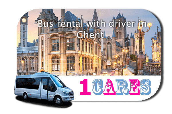 Hire a bus in Ghent