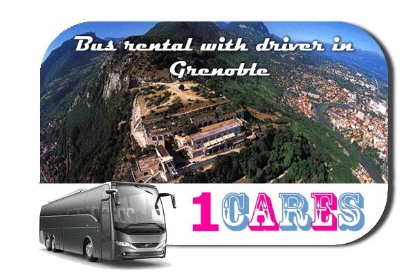Rent a bus in Grenoble
