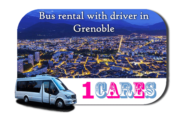 Hire a bus in Grenoble
