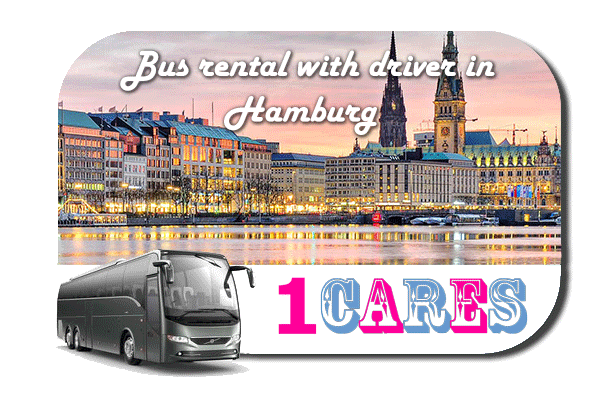 Rent a bus in Hamburg