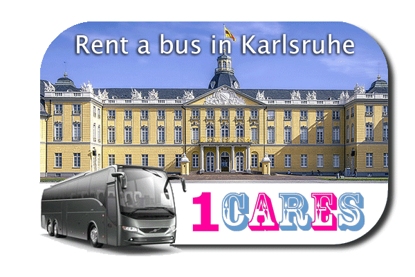 Rent a bus in Karlsruhe