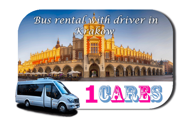 Hire a bus in Krakow