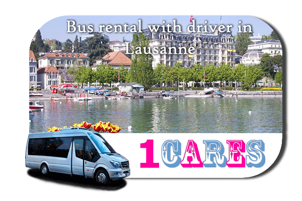 Hire a bus in Lausanne