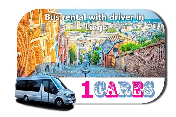 Hire a coach with driver in Liège