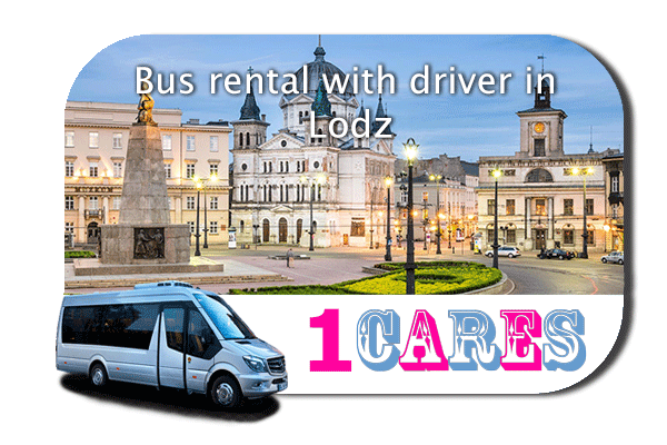 Hire a bus in Lodz