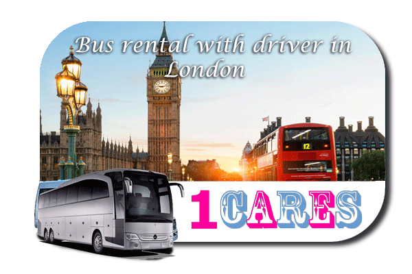 Rent a bus with driver in London