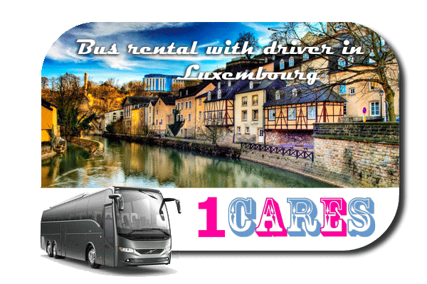 Rent a bus in Luxembourg