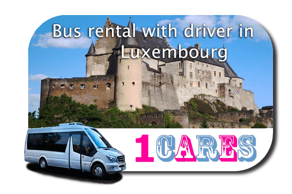 Hire a bus in Luxembourg