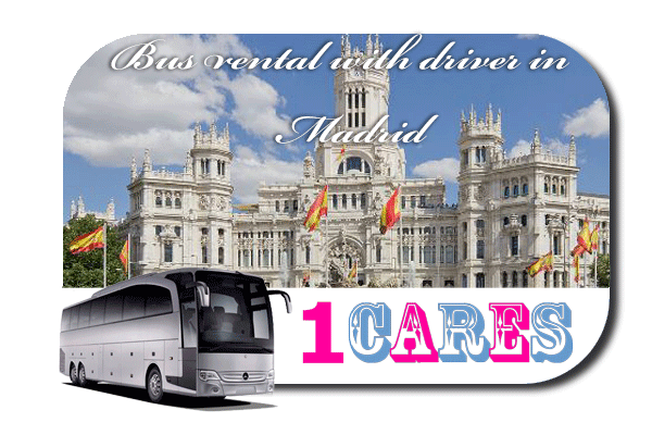Rent a bus with driver in Madrid