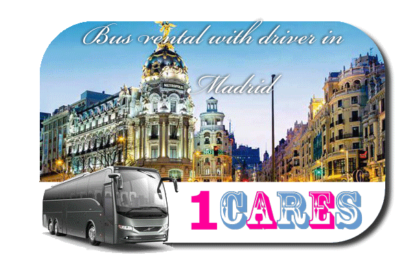 Rent a bus in Madrid