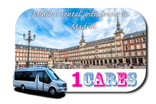 Hire a bus in Madrid