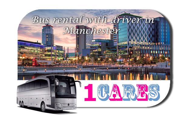 Rent a bus in Manchester
