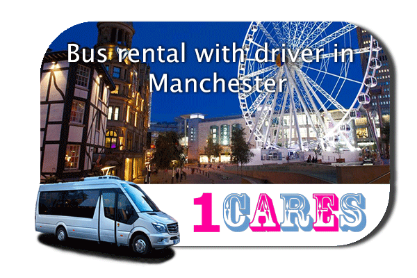 Hire a bus in Manchester