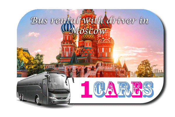 Rent a bus with driver in Moscow