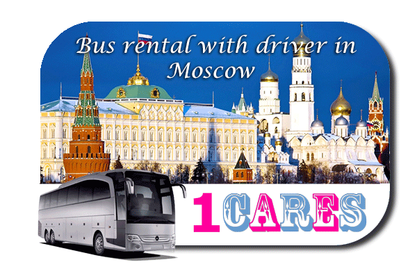 Rent a bus in Moscow