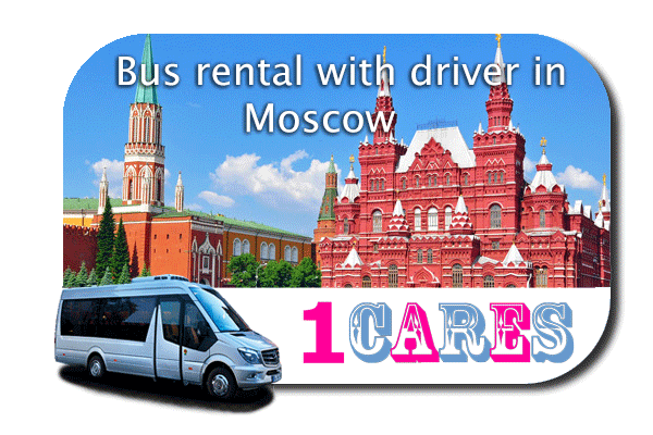 Hire a bus in Moscow