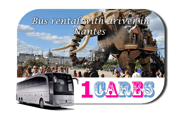 Rent a bus in Nantes