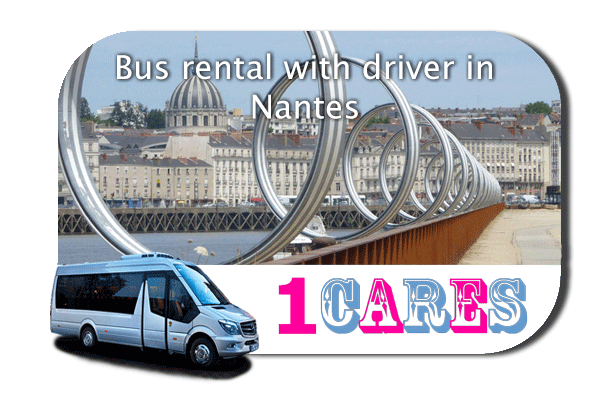 Hire a bus in Nantes