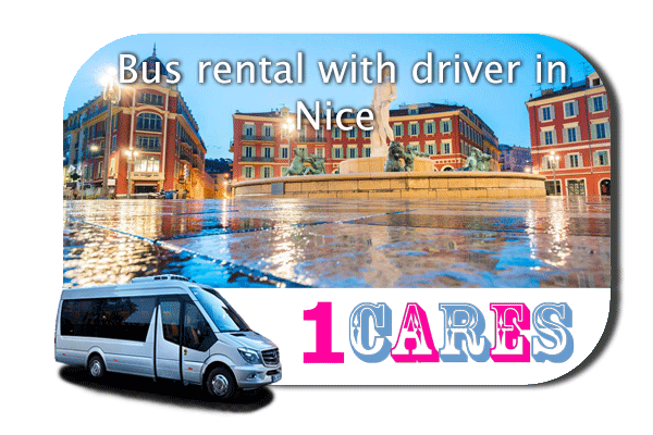 Hire a bus in Nice