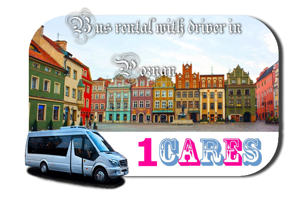 Hire a bus in Poznan