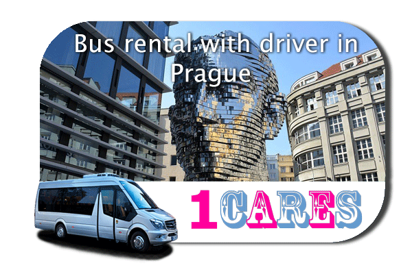 Hire a bus in Prague