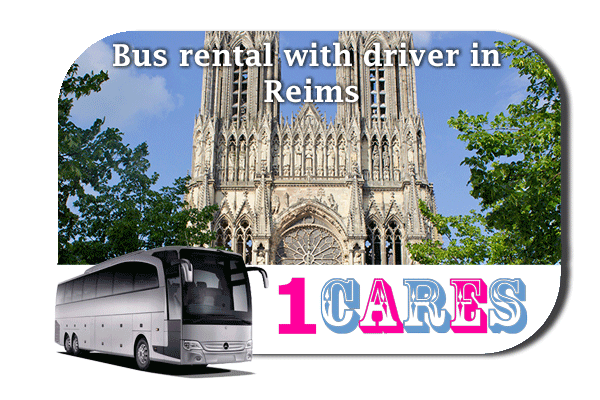 Rent a bus in Reims