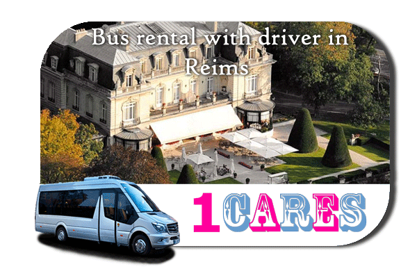 Hire a bus in Reims