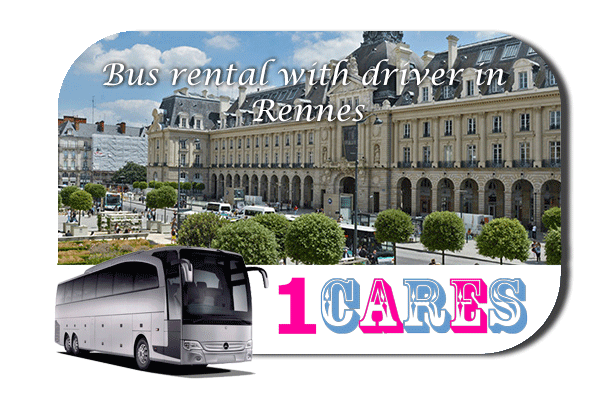 Rent a bus in Rennes