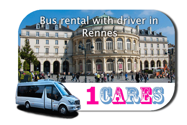 Hire a bus in Rennes