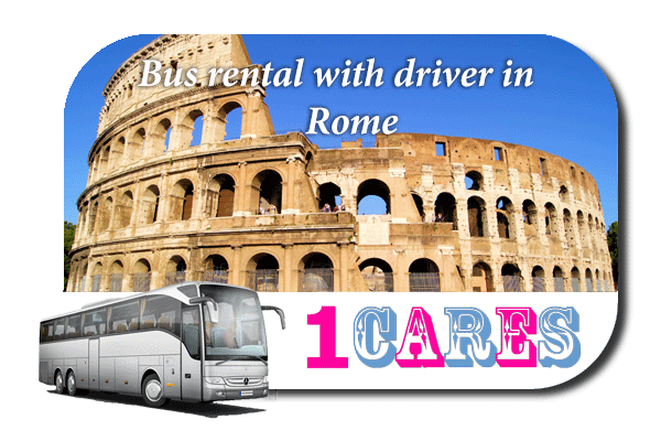 Rent a bus in Rome