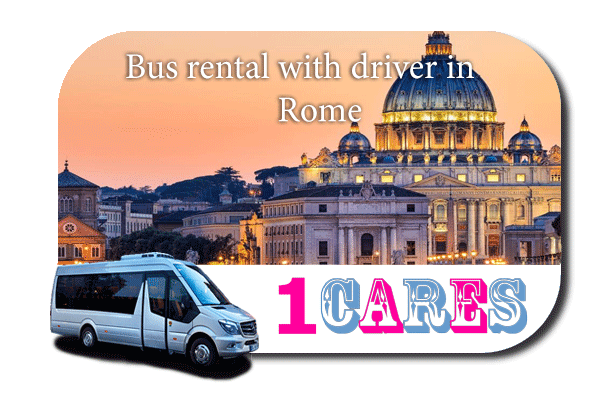 Hire a bus in Rome