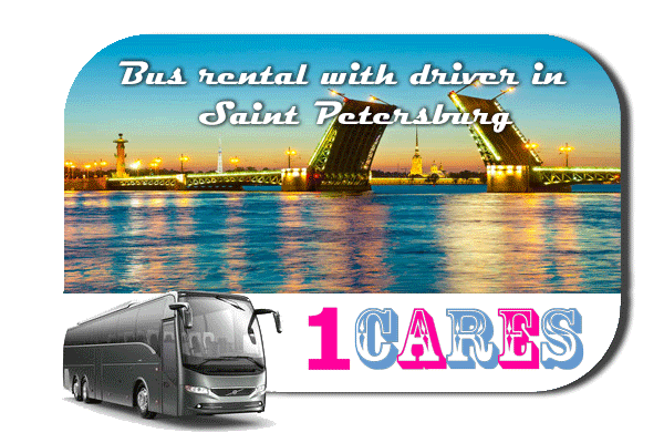 Rent a bus in Saint Petersburg