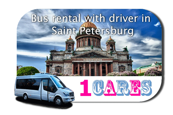 Hire a bus in Saint Petersburg