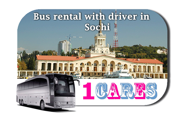 Rent a bus in Sochi