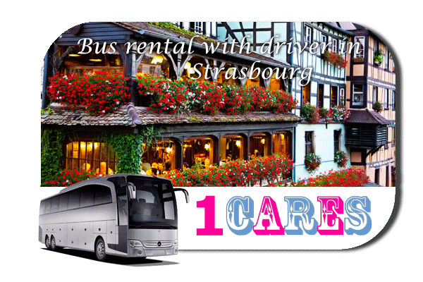 Rent a bus in Strasbourg
