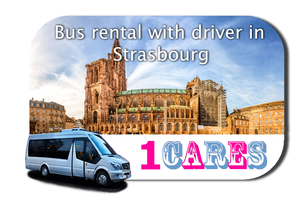 Hire a bus in Strasbourg