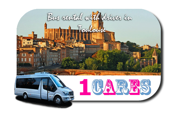 Hire a bus in Toulouse