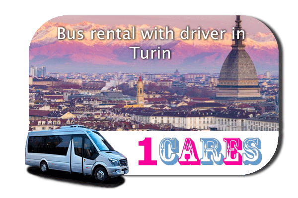 Hire a bus in Turin
